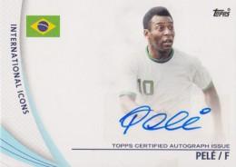 2013-14 Topps Premier Gold Autographs Pele
