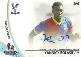 2013-14 Topps Premier Gold Soccer Autographs Guide 8
