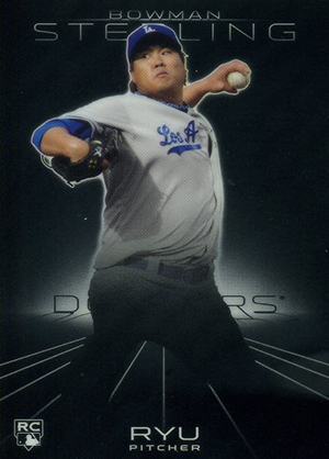 Hyun-jin Ryu Rookie Cards Guide 3