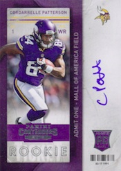 Cordarrelle Patterson Rookie Card Guide 21