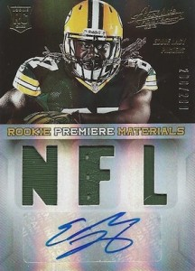 2013 Panini Absolute Eddie Lacy RC 208 Autograph 216x300 Image