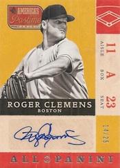 2013 Panini America's Pastime Baseball Cards 29