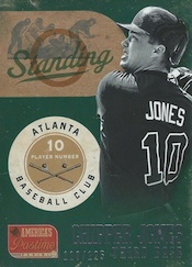 2013 Panini America's Pastime Baseball Cards 50