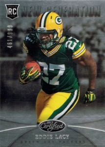 Eddie Lacy Rookie Card Checklist and Visual Guide 6