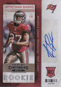 2013 Panini Contenders Football Rookie Ticket Autographs Short Prints 1