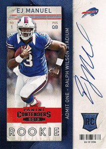 2013 Panini Contenders Rookie Ticket Autographs Variations Guide 67