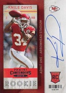 2013 Panini Contenders Rookie Ticket Autographs Variations Guide 81