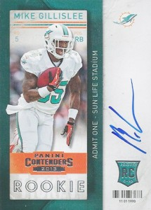 2013 Panini Contenders Rookie Ticket Autographs Variations Guide 96