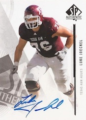 2013 SP Authentic Football Cards 25
