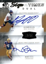 2013 SP Authentic Football Cards 34
