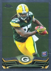 Eddie Lacy Rookie Card Checklist and Visual Guide 47