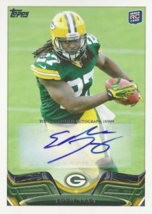 2013 Topps Eddie Lacy RC 406 autograph 213x300 Image