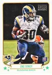 2013 Topps Magic Football Cards 25