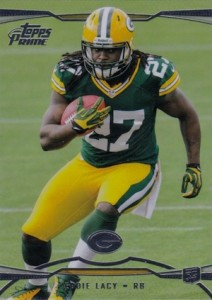 Eddie Lacy Rookie Card Checklist and Visual Guide 58