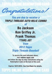 Top 20 Frank Thomas Cards 25