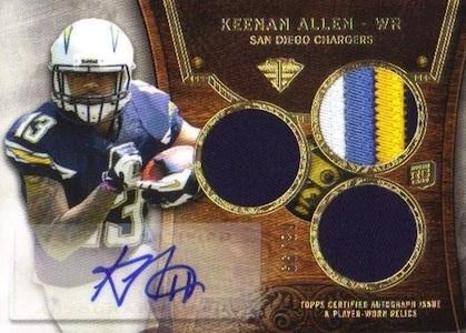 Keenan Allen Rookie Card Guide 5
