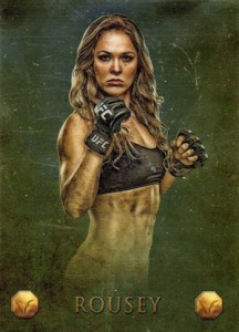 Rowdy Returns! Top Ronda Rousey MMA Cards 8