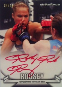 Rowdy Returns! Top Ronda Rousey MMA Cards 11