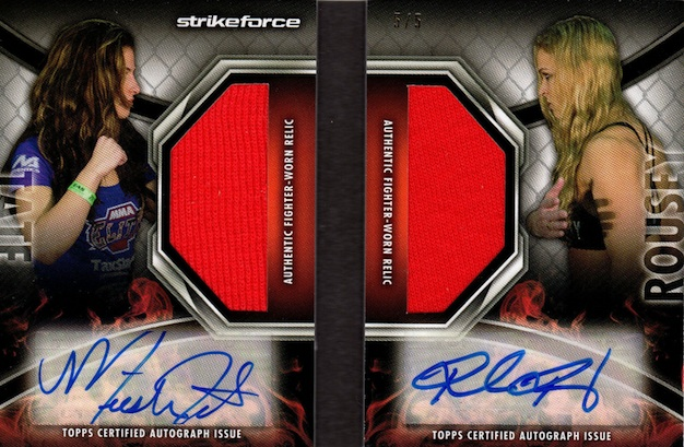 Rowdy Returns! Top Ronda Rousey MMA Cards 12