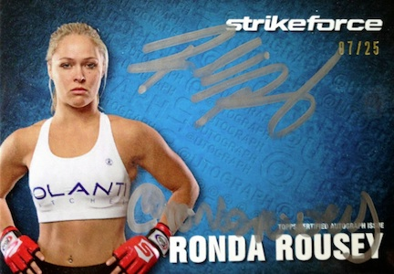 Rowdy Returns! Top Ronda Rousey MMA Cards 15