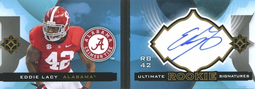 Eddie Lacy Rookie Card Checklist and Visual Guide 73