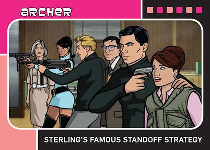 2014 Cryptozoic Archer Seasons 1-4 Trading Cards 23