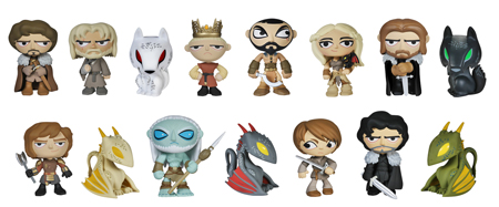 2014 Funko Game of Thrones Mystery Minis Figures
