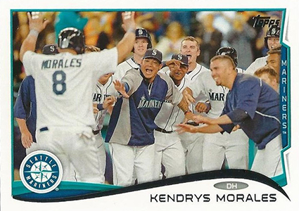 10 Awesome Images from 2014 Topps Series 1 Baseball 2