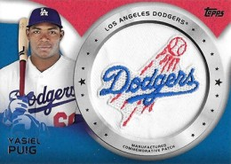 2014 Topps Series 1 Retail Commemorative Patch and Rookie Patch Guide 9