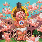 2014 Topps Garbage Pail Kids Valentine's Day Cards