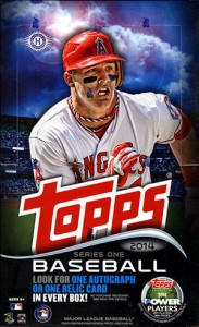 2014 Topps Series 1 Baseball Cards 57