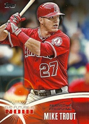 2014 Topps Series 1 Baseball Cards 45