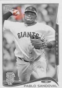 2014 Topps Baseball Sparkle Variation Spotter 47
