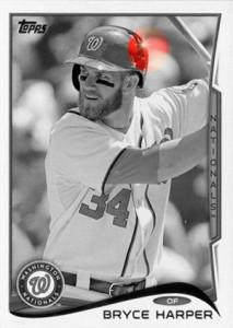 2014 Topps Baseball Sparkle Variation Spotter 19
