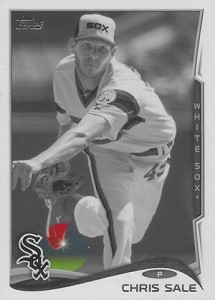 2014 Topps Baseball Sparkle Variation Spotter 25