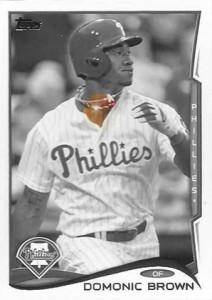 2014 Topps Baseball Sparkle Variation Spotter 42