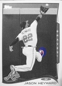 2014 Topps Baseball Sparkle Variation Spotter 34