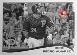 2014 Topps Baseball Sparkle Variation Spotter 30