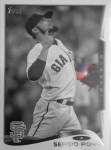 2014 Topps Baseball Sparkle Variation Spotter 39