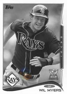 2014 Topps Baseball Sparkle Variation Spotter 21