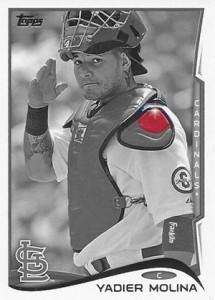 2014 Topps Baseball Sparkle Variation Spotter 15