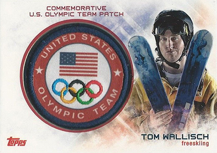 2014 Topps US Olympic and Paralympic Team and Hopefuls Patch Card