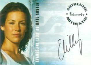 2005 Inkworks LOST Season 1 Autographs A1 Evangeline Lilly as Kate Austen