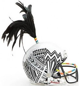NFL and Bloomingdales Partner for Designer Super Bowl Helmet Auction 2
