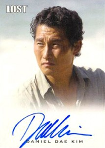 2010 Rittenhouse LOST Archives Autographs Daniel Dae Kim as Jin-Soo Kwon