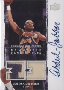 Kareem Abdul-Jabbar Cards and Memorabilia Guide 26