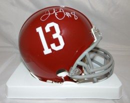 Julio Jones Signed Helmet