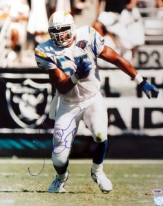 Junior Seau Signed Photo