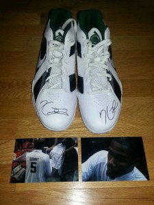 Kevin Durant Signed Sneakers