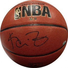 Kevin Garnett Signed Basketball